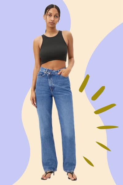 Denim-Wunderhose: Diese neue Trend-Jeans zaubert die perfekte Figur - und das liegt an diesem Detail