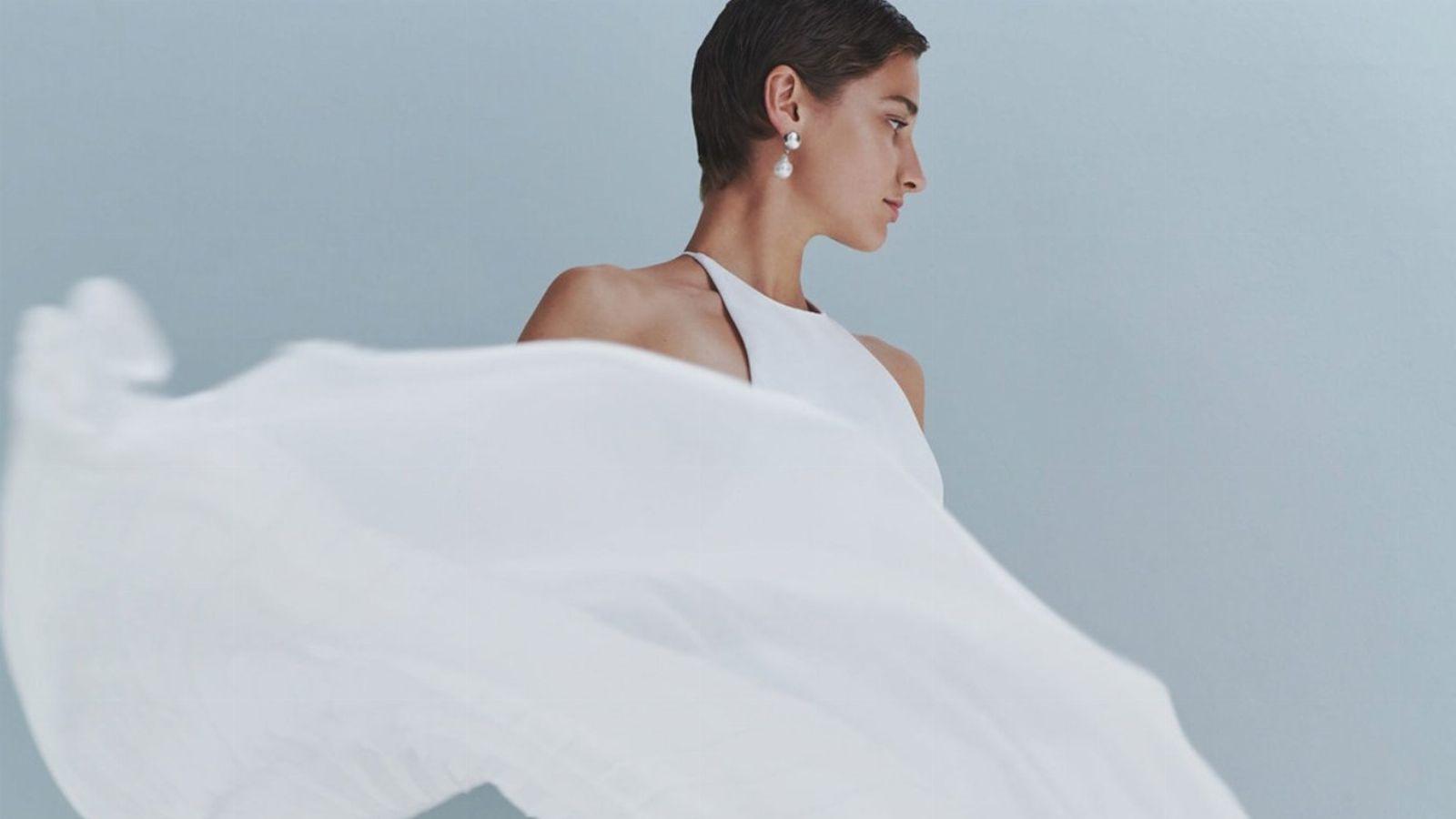 Brautkleider von Galvan: 10 perfekte Hochzeitskleider für minimalistische Bräute