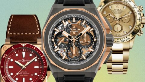 Stahl, Gold, Titan oder Keramik? Das sind die 7 wichtigsten Uhren-Materialien im Überblick