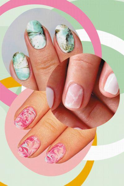 """""""Marble Nails"""" sind der schönste Nagel-Trend und wir zeigen dir, wie das Marmor-Design funktioniert"""