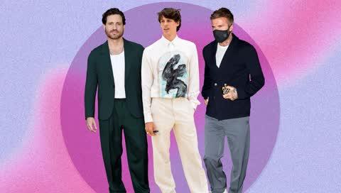 Hosentrends: David Beckham & Co. zeigen, wie wir jetzt Hosen tragen