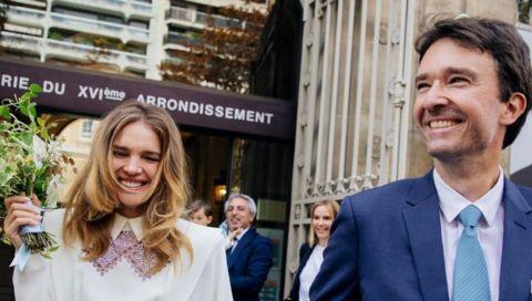 So heiratet ein russisches Topmodel: Natalia Vodianova zeigt ihre Hochzeitsfotos - und ihr außergewöhnliches Brautkleid