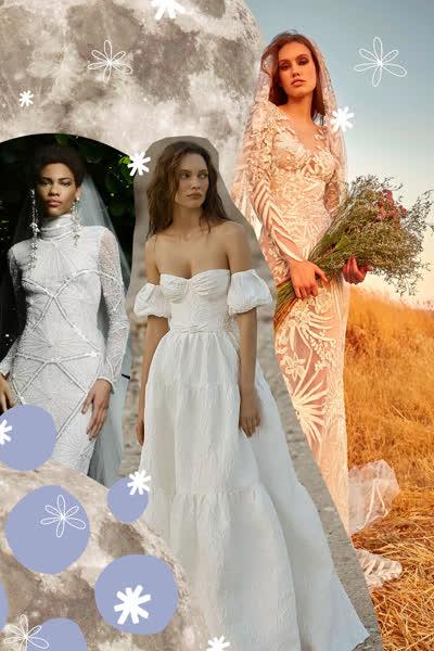 Hochzeitskleid-Astrologie: Dieses Brautkleid passt perfekt zu deinem Sternzeichen - und so tickst du laut Horoskop am Tag deiner Hochzeit