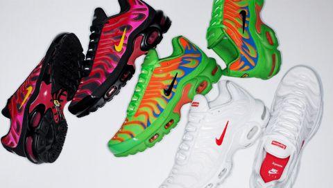 Diese Nike x Supreme-Sneaker bringen Sonnenschein in Ihre Herbstgarderobe
