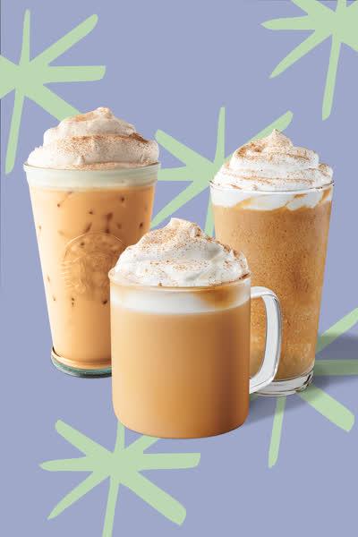 Pumpkin Spice Latte: Das Starbucks-It-Getränk kehrt im September 2021 in drei Varianten zurück